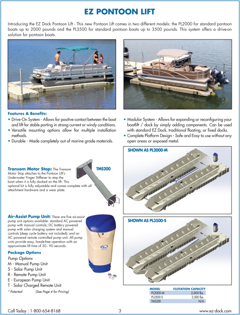 2016 Ez Dock Long Island Catalog