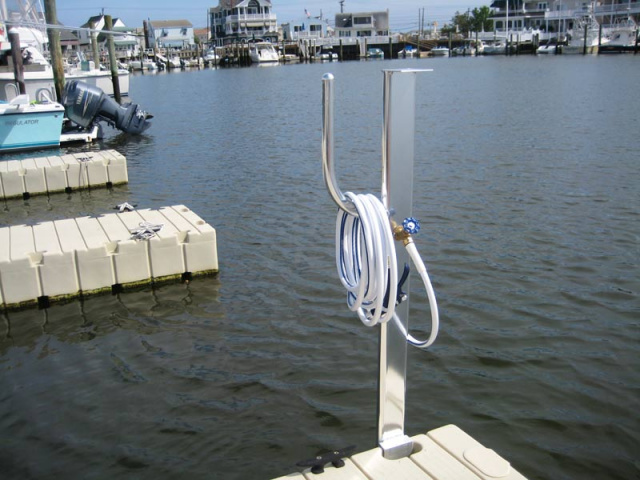 Long island ez dock residential solutions for Dock fish cleaning station