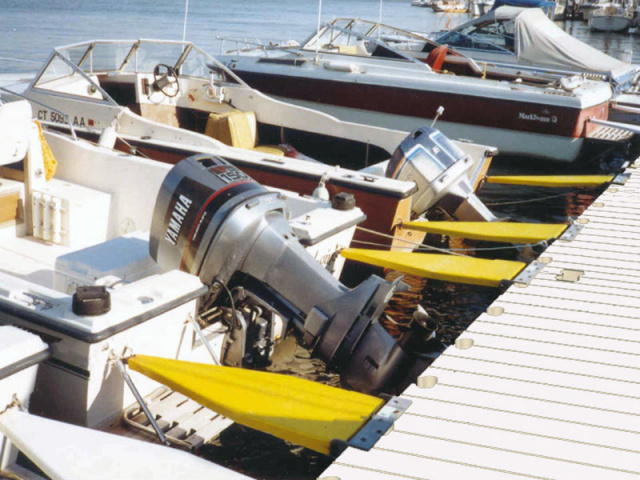 EZ-Dock Frog Hooks - Boat Mooring and Boarding System